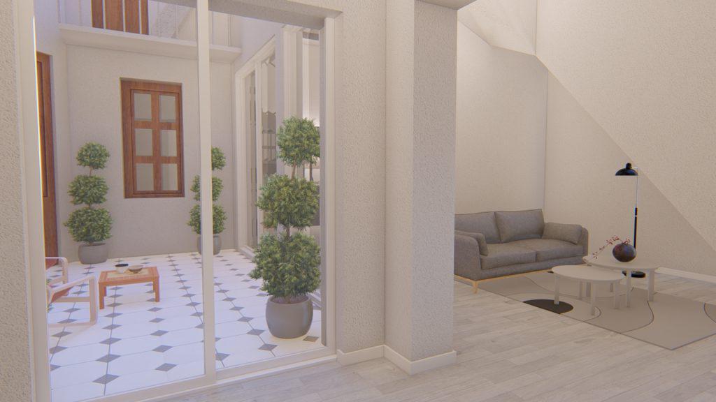 Venta Casa Reciclada Planta baja y terraza - Abasto