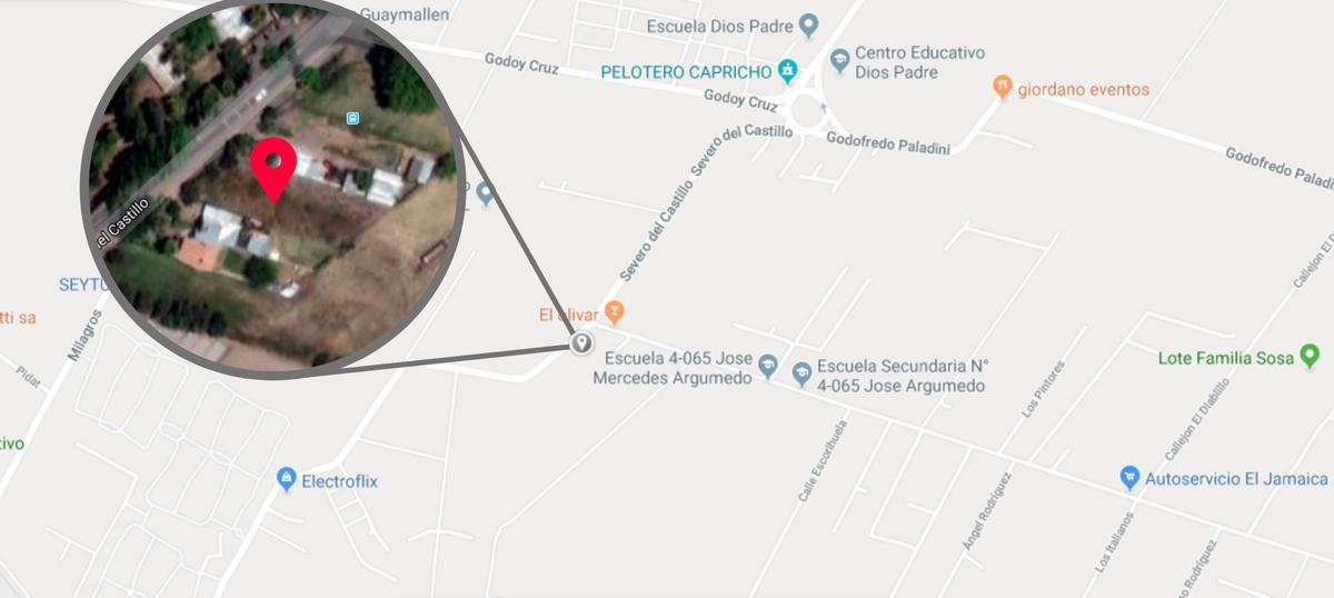 Foto Terreno en Venta en  Rodeo De La Cruz,  Guaymallen  Severo del Castillo 3837