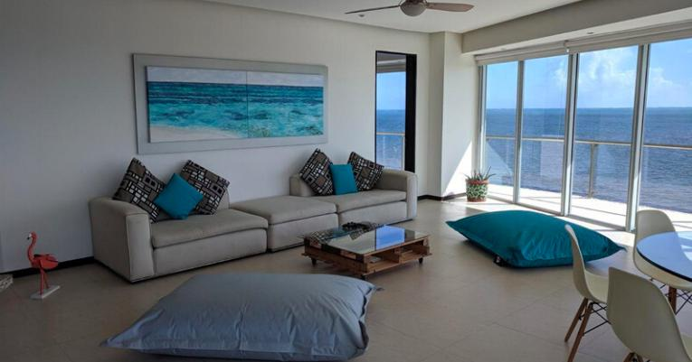 Foto Departamento en Venta en  Cancún,  Benito Juárez  Venta de Departamento | Condominio Península Cancún BeachFront