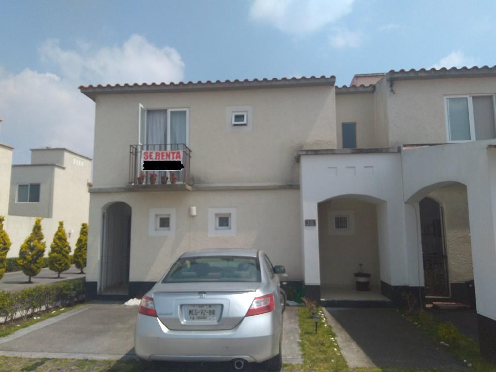 Foto Casa en Renta en  Santa María,  San Mateo Atenco  RENTA RESIDENCIAL SANTA MARIA. A 25 MIN. DE SANTA FE