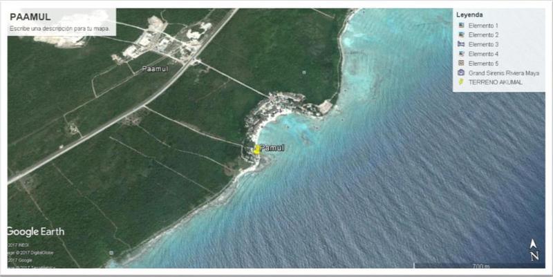 Foto Campo en Venta en  Playa del Carmen,  Solidaridad  Terreno con playa en Paamul