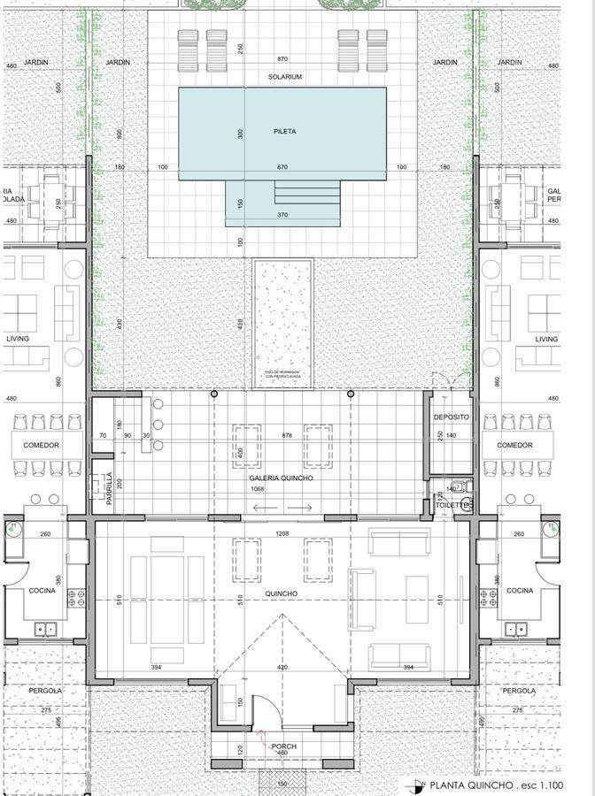 Complejo de Casa en Venta con pileta compartida - Aldea - Fisherton