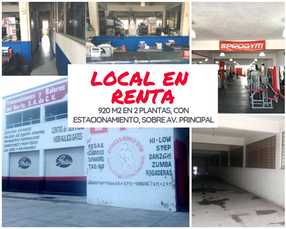 Foto Local en Renta en  Complejo Industrial Cuamatla,  Cuautitlán Izcalli  Local de 920m2 sobre Calza de Guadalupe Cuautitlan Mexico