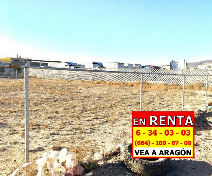Foto Terreno en Renta en  El Florido,  Tijuana  RENTAMOS PRECIOSO TERRENO 1.845 MTS2 ESQUINA DE 2 AVENIDAS IMPORTANTES