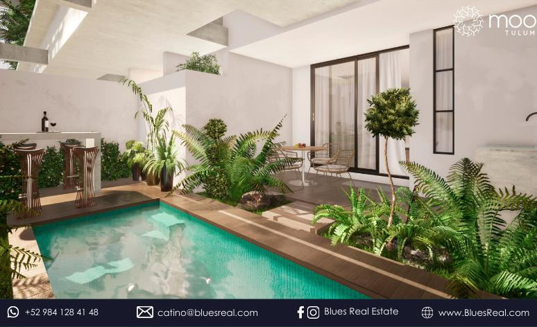 Picture Apartment in Sale in  Tulum ,  Quintana Roo  For sale apartments in Moots at Tulum   Blues Real   Code 668