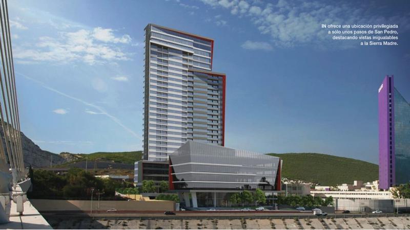 Foto Departamento en Renta en  Santa María,  Monterrey  DEPARTAMENTO NUEVO EN RENTA TORRE IN MONTERREY NL $24,500