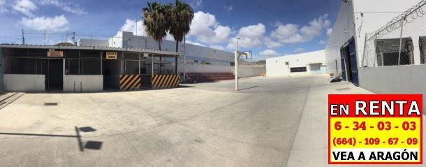 Foto Nave Industrial en Renta en  Ensenada ,  Baja California Norte  RENTAMOS EXCELENTE NAVE INDUSTRIAL DE 7,370 M2 o 79,340 P2 en ENSENADA B.C.