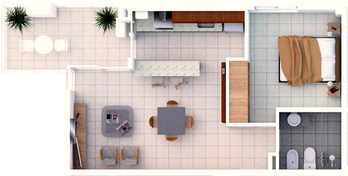 Foto Departamento en Venta en  Candioti Sur,  Santa Fe  Laprida 3337 - U 31 - 3° piso frente noroeste
