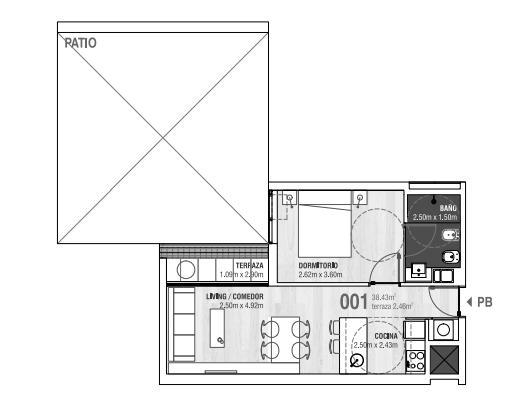 Foto Departamento en Venta en  Prado ,  Montevideo  En construcción, en Prado, un dormitorio, VIVIENDA PROMOVIDA