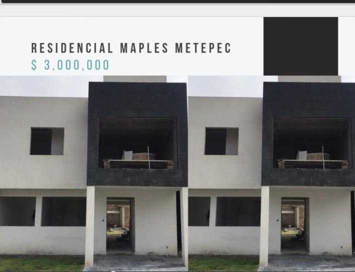 Foto Casa en Venta en  San Miguel Totocuitlapilco,  Metepec  CASA EN VENTA NUEVA EN SAN MIGUEL TOTO, METEPEC, EN PRIVADA, A 5 MINUTOS  DE GALERIAS CON SALIDA RAPIDA A CDMEX.