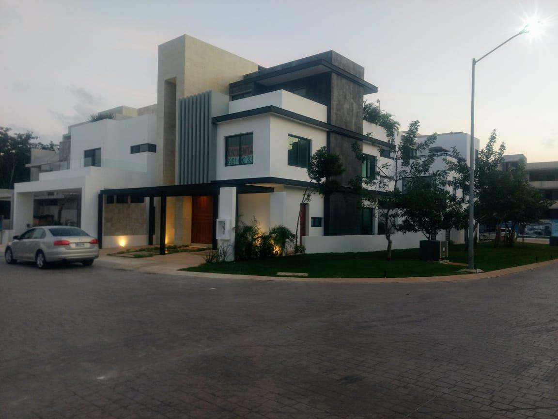 Foto Casa en Venta en  Aqua,  Cancún  CASA EN VENTA EN CANCUN EN RESIDENCIAL AQUA BY CUMBRES