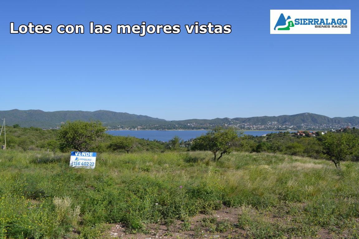 Foto Terreno en Venta en  Villa Parque Siquiman,  Punilla  Lote con vista al Lago San Roque