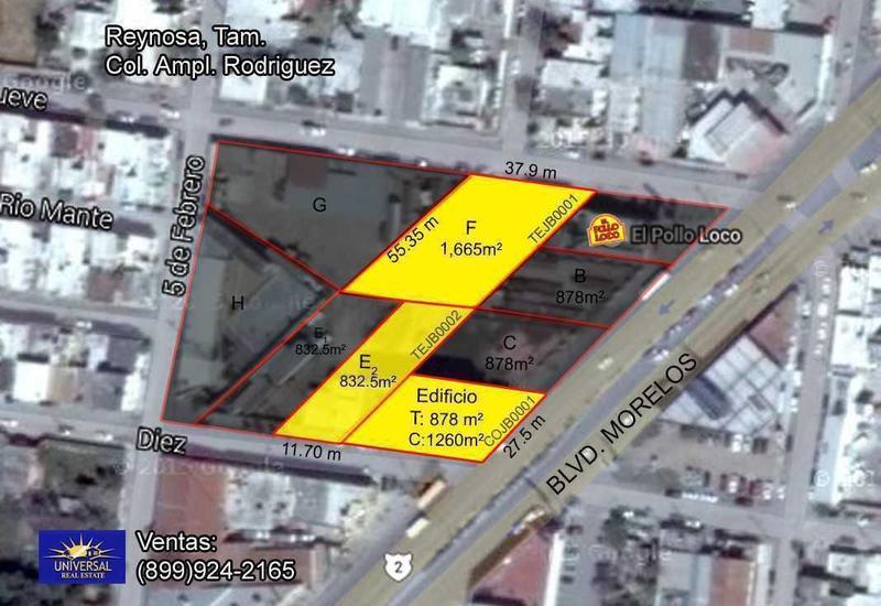 Foto Terreno en Venta en  Prolongación Longoria (Ampliación),  Reynosa  Prolongación Longoria (Ampliación)