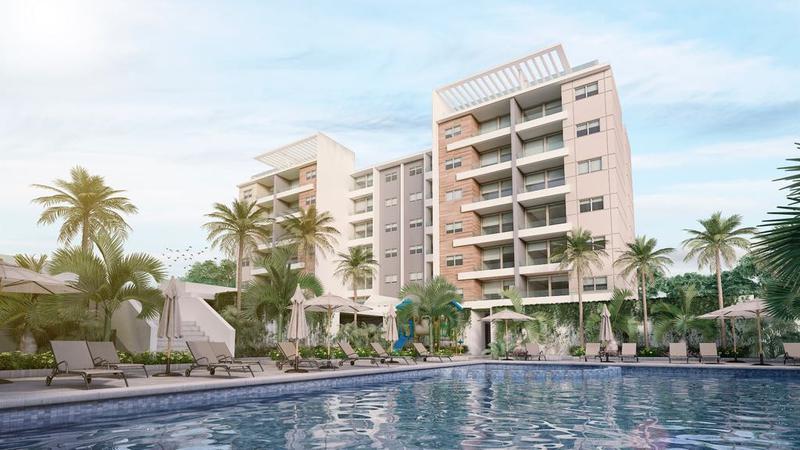 Foto Departamento en Venta en  Cancún,  Benito Juárez  Cascades Aqua Residencial Cancún