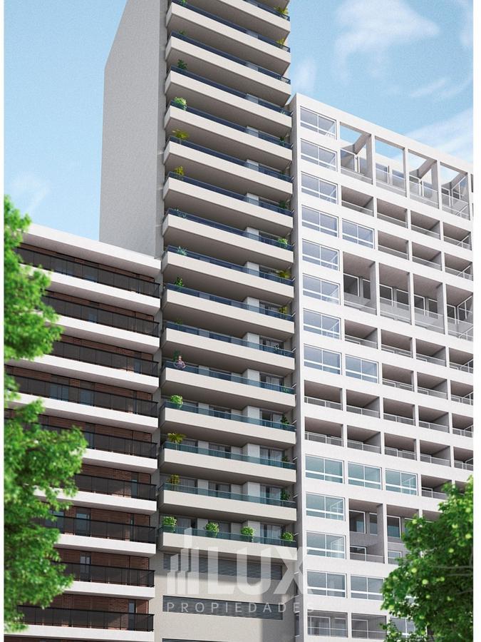 Cochera en venta opcional con departamento en edificio Scuba 45, vista al rio  - Martin