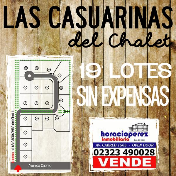 Foto Terreno en Venta en  Open Door,  Lujan  Las Casuarinas del Chalet