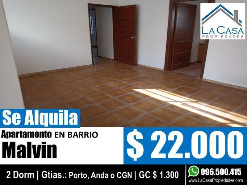 Foto Apartamento en Alquiler en  Malvín ,  Montevideo  PILCOMAYO 5000