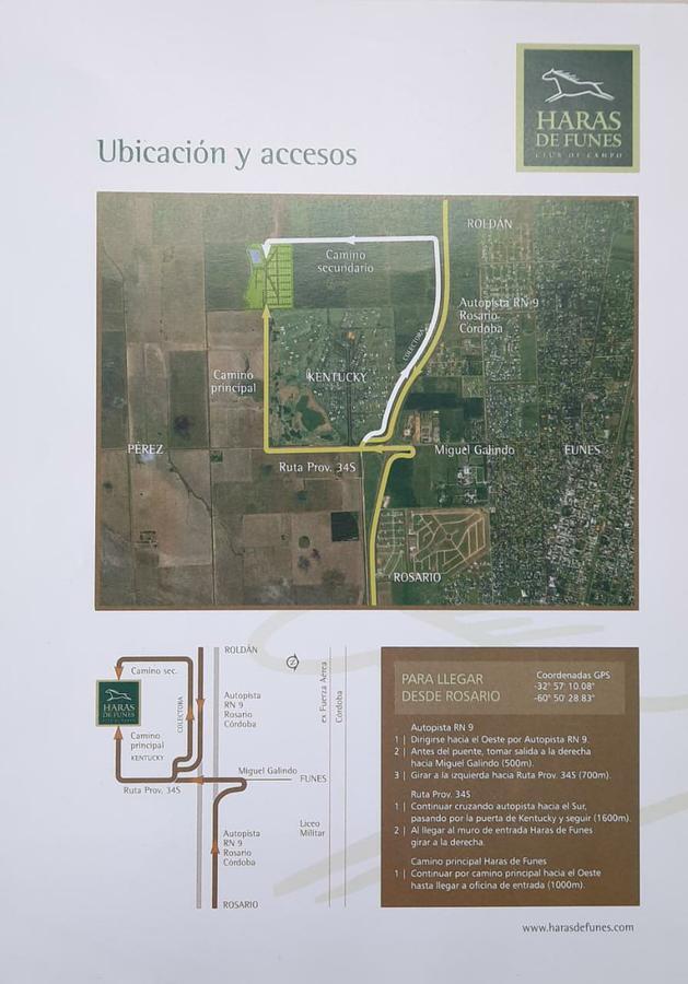Foto Chacra en Venta en  Funes ,  Santa Fe  Funes