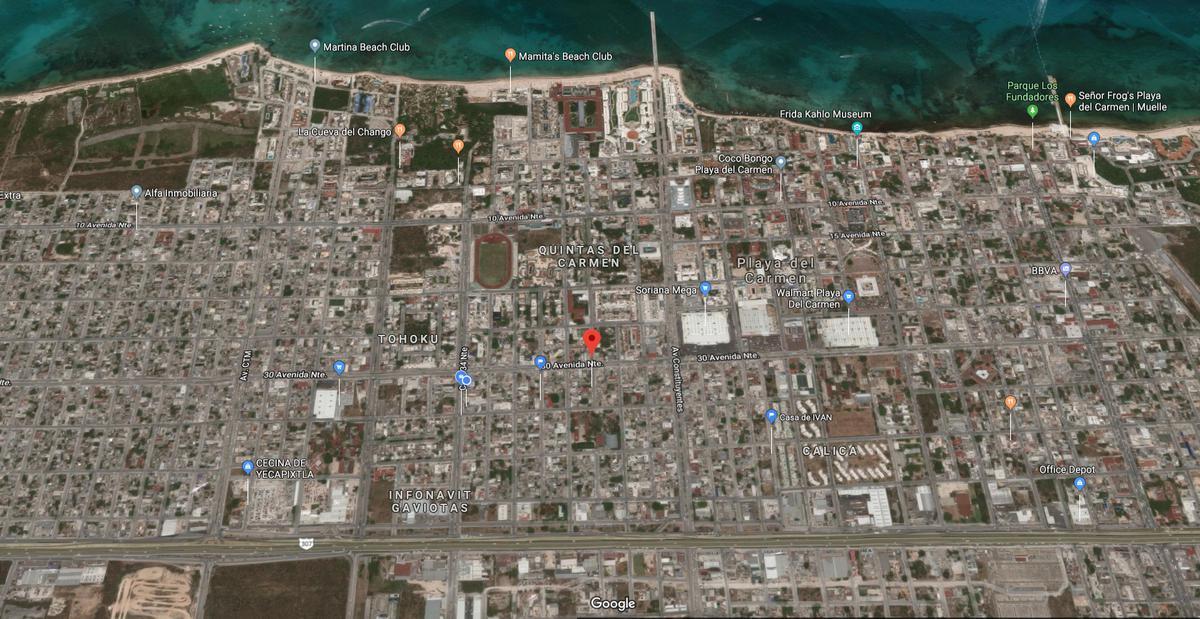 Foto Departamento en Venta en  Playa del Carmen Centro,  Solidaridad  DEPARTAMENTO EN EL CENTRO CON ROOF TOP A 5 MIN. DE LA PLAYA