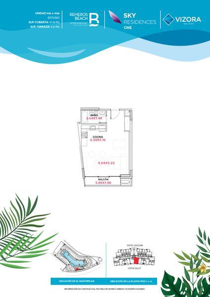 Foto Departamento en Venta en  Remeros Beach,  Rincon de Milberg  RB | SKY 1 - 1408