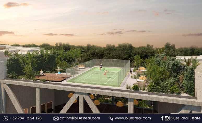 Picture Apartment in Sale in  Playa del Carmen ,  Quintana Roo  NEW 2 bedroom apartment in Tuk Tulum condo | Code 325