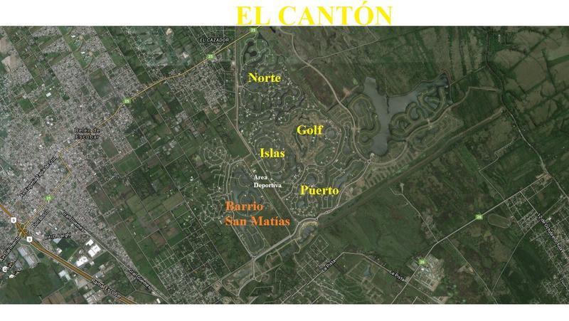 Foto Terreno en Venta en  Ingeniero Maschwitz,  Escobar  El Canton - Norte al 600