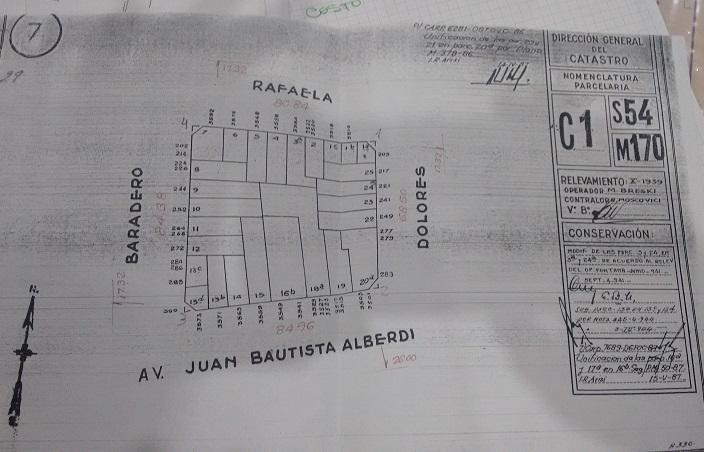 Foto Terreno en Venta en  Floresta ,  Capital Federal  Juan Bautista Alberdi 3515