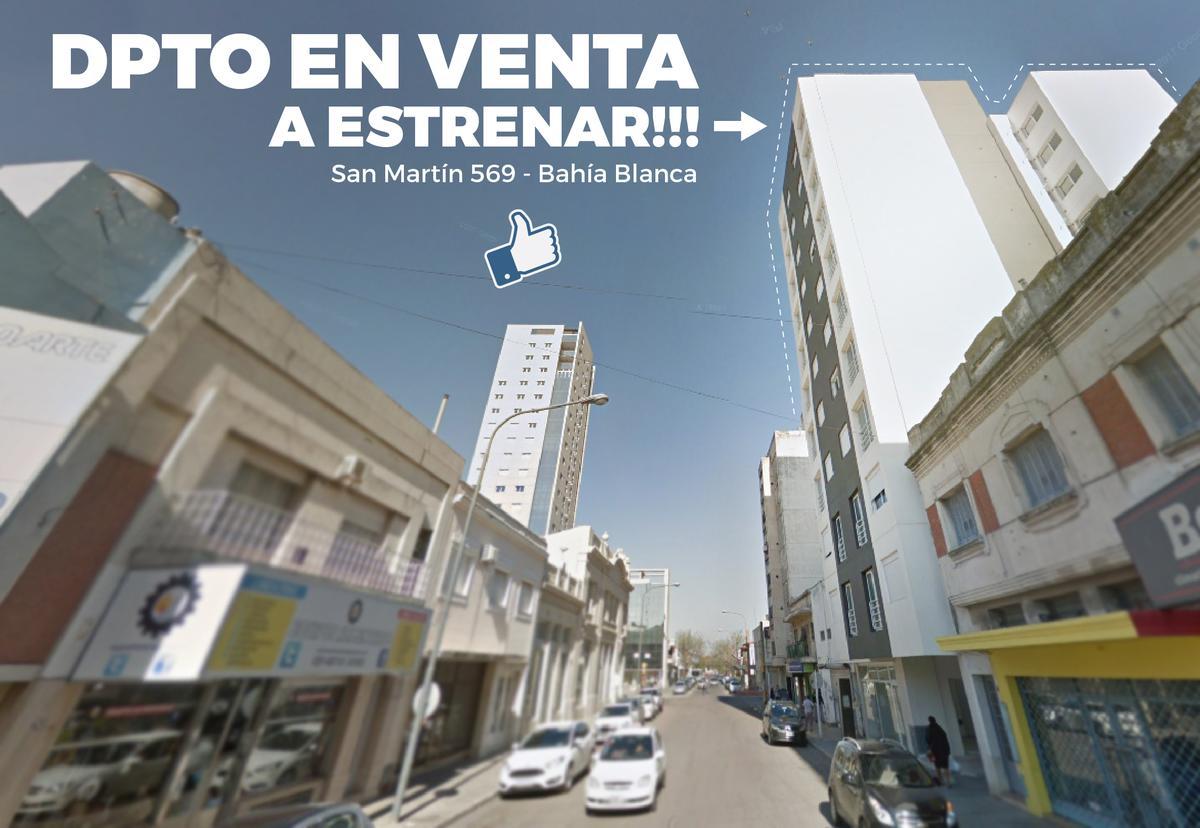 Foto Departamento en Venta en  Bahia Blanca ,  Interior Buenos Aires  San Martín al 500