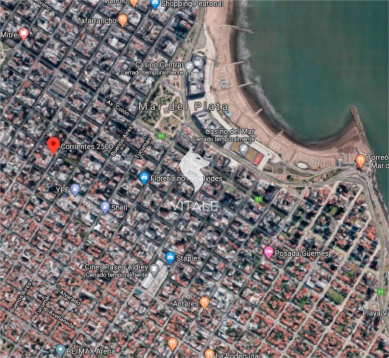 Foto Terreno en Venta en  Macrocentro,  Mar Del Plata  Corrientes al 2500