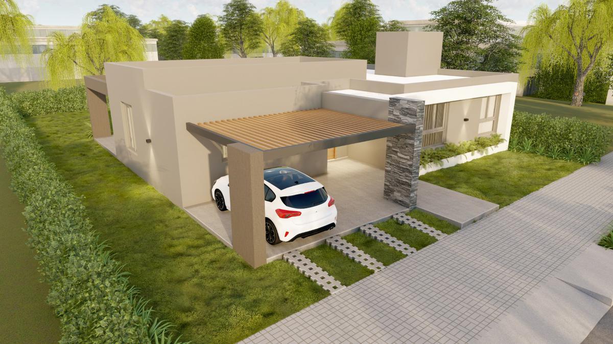Foto Casa en Venta en  Santa Lucia,  Santa Lucia  Barrio Privado San Carlos - Casa 2
