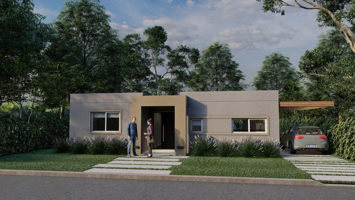 Foto Casa en Venta en  San Ramiro ,  Pilar Del Este  Casa a estrenar Barrio San Ramiro Pilar del Este