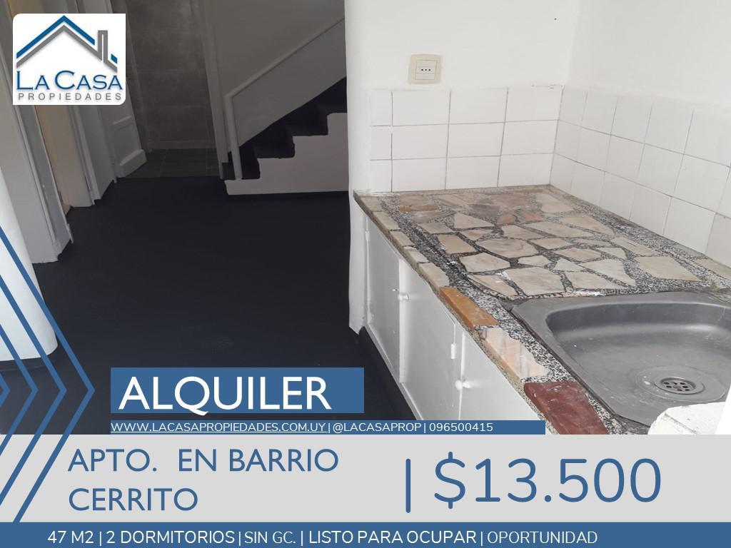 Foto Apartamento en Alquiler en  Cerrito ,  Montevideo  José Revuelta al 3400