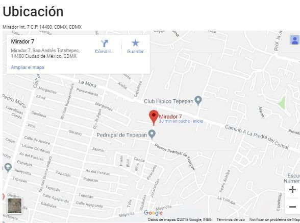 Foto Casa en Venta en  San Andrés Totoltepec,  Tlalpan  Mirador 7 - Spazio Mirador Tepepan - Casa 2