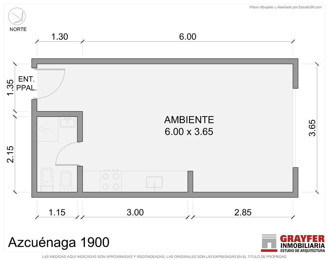 Foto Departamento en Venta en  Recoleta ,  Capital Federal  AZCUENAGA al 1900