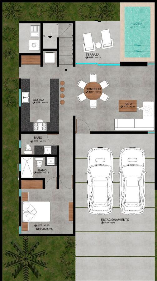 Foto Casa en Venta en  Pueblo Cholul,  Mérida  Casa en Venta en Privada - Cholul Yucatan