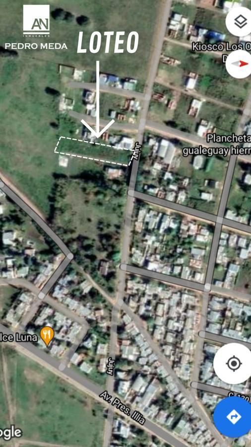 Foto Terreno en Venta en  Gualeguay,  Gualeguay  Continuación Jujuy y calle al 100