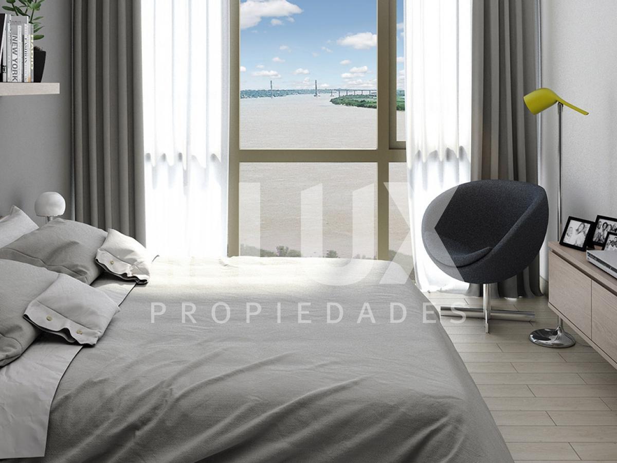 Departamento venta dos dormitorios torre Brisa - vista al rio