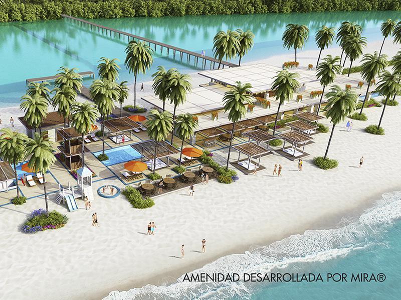Foto Departamento en Venta en  Puerto Cancún,  Cancún  ALBA CANCÚN | PUERTO CANCÚN | DEPARTAMENTO | 3 HAB | planta 1