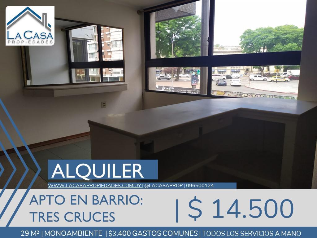 Foto Apartamento en Alquiler en  Tres Cruces ,  Montevideo  8 de Octubre al 2300
