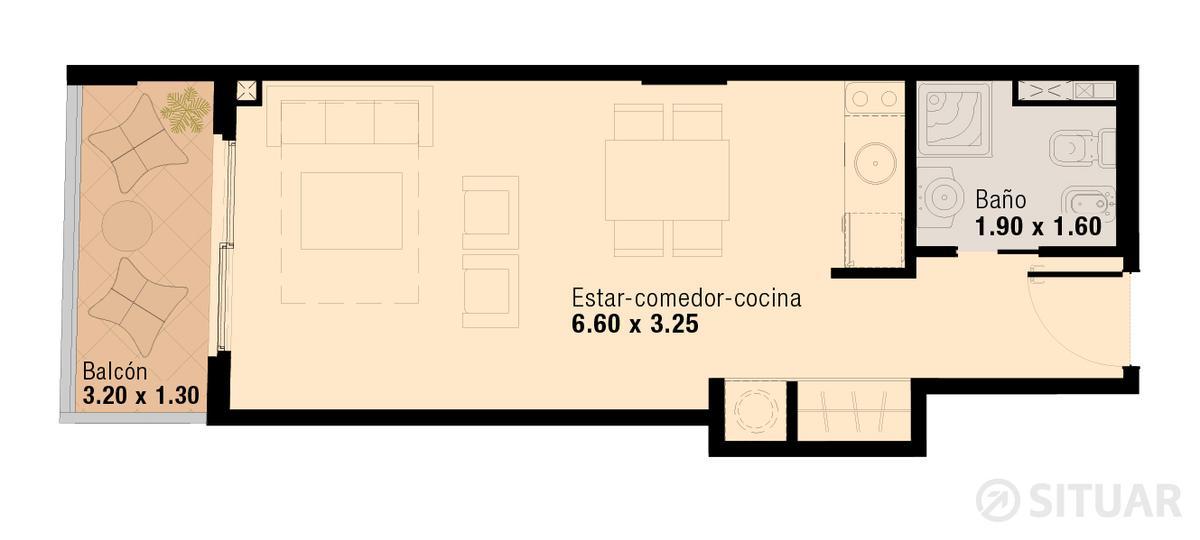 Foto Oficina en Venta en  Flores ,  Capital Federal  Pavillon San Jose - U.312