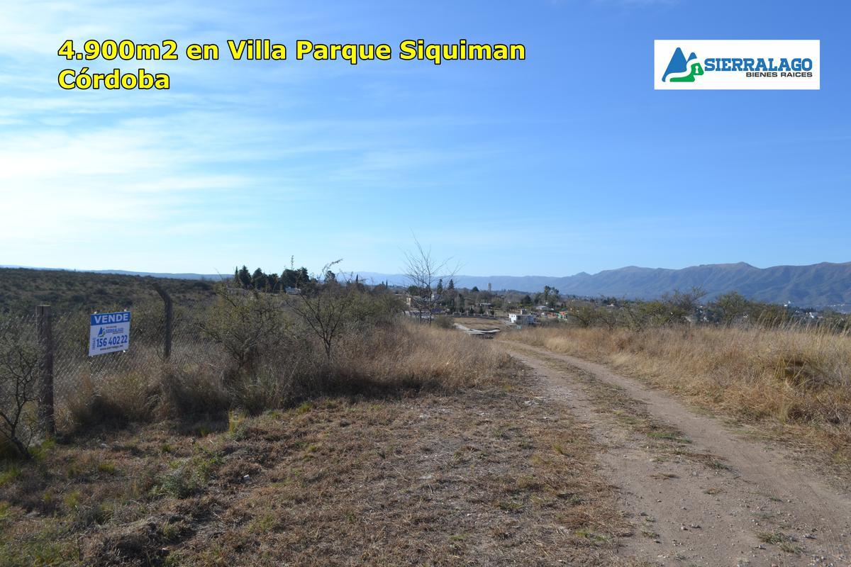 Foto Terreno en Venta |  en  Villa Parque Siquiman,  Punilla  Único lote en Villa Playas San Roque