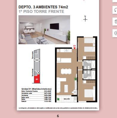 Foto Departamento en Venta en  Centro,  Rosario  MENDOZA 2128- 2 DORMITORIOS.OPCION COCHERA-MAYO 2022