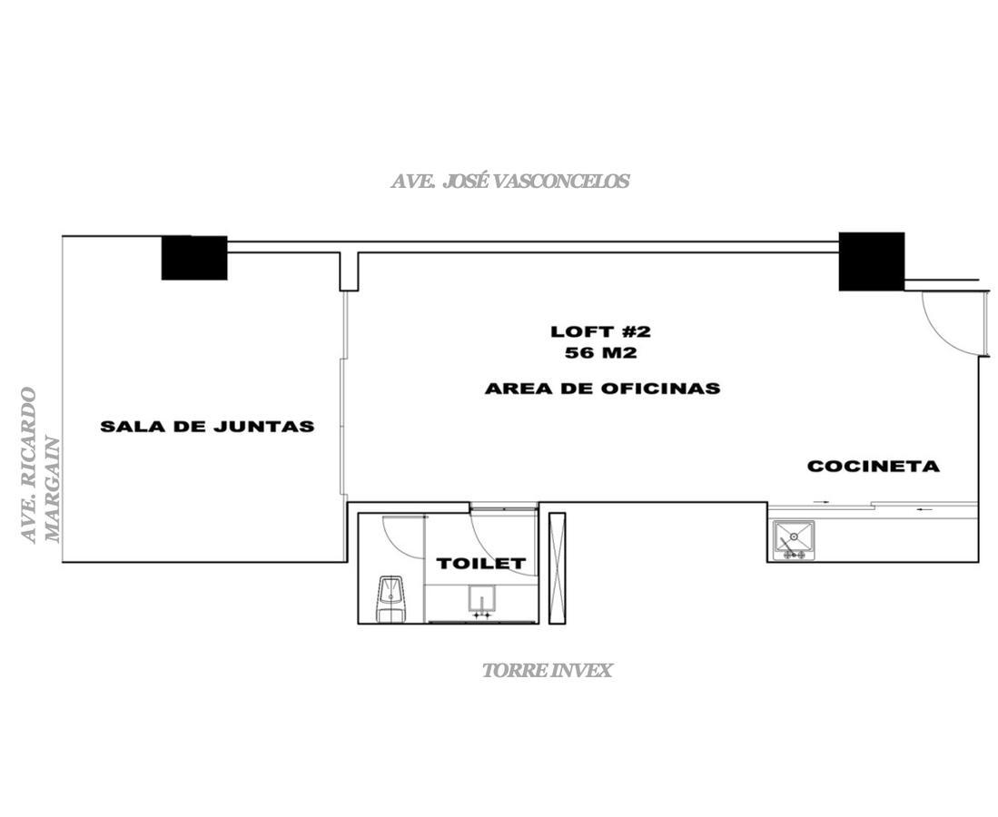 Foto Oficina en Renta en  Santa Engracia,  San Pedro Garza Garcia  OFICINA RENTA CHROMA  San Pedro Garza Garcia