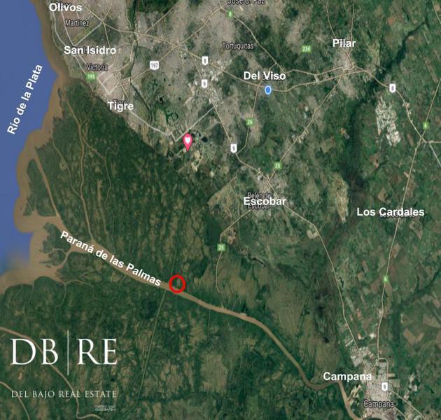 Foto Terreno en Venta en  Escobar ,  G.B.A. Zona Norte  Venta Fracción 22.947 m2 - Río Paraná de las Palmas