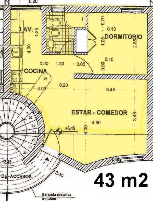 Foto Departamento en Alquiler en  Capital ,  San Juan  Rivadavia Nº al 1100