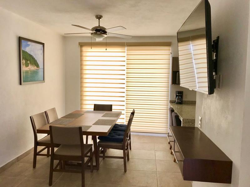 Foto Casa en condominio en  en  Fraccionamiento Terralta,  Bahía de Banderas  Renta vacacional, cerca de playa en coto con alberca (Casa Hector)