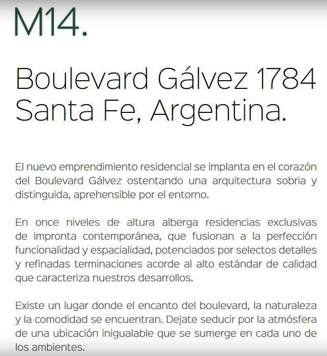 Foto Departamento en Venta en  Santa Fe,  La Capital  BOULEVARD GALVEZ al 1748