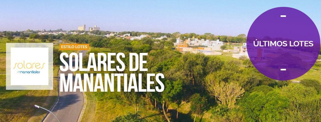 Foto Terreno en Venta en  Altos de Manantiales,  Countries/B.Cerrado (Cordoba)  Solares de Manantiales