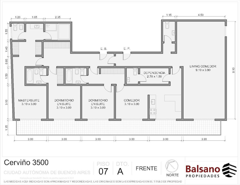 Foto Departamento en Venta en  Palermo ,  Capital Federal  Cerviño al 3500
