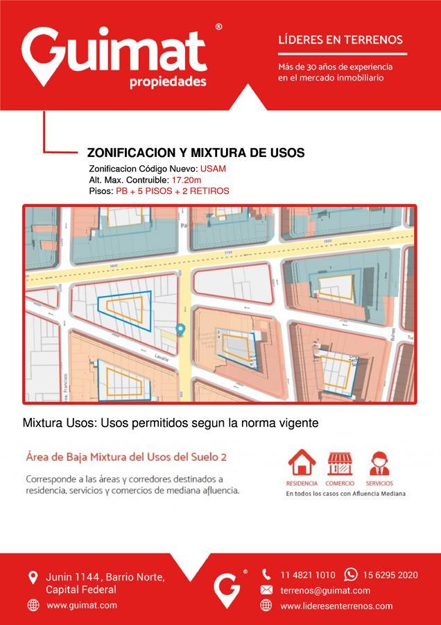 Foto Terreno en Venta en  Almagro ,  Capital Federal  MEDRANO al 900